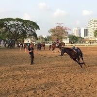 Photo taken at The Royal Horse Guard Riding Club by Sahutsa I. on 3/7/2015