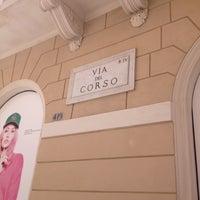 Photo taken at Via del Corso by Volkan Ö. on 5/11/2013