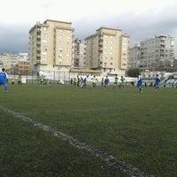 Photo taken at Bornova Stadı by Harun K. on 3/10/2013