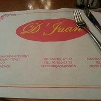 Photo taken at D'Juan by Alberto M. on 3/12/2013