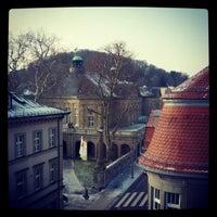 Photo taken at Regentenbau by Derek R. on 2/22/2013