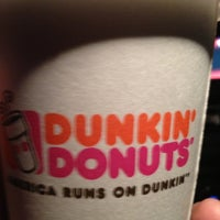 Photo taken at Dunkin' Donuts by Nikki M. on 2/7/2013