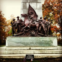 Photo taken at Virginia Monument, Gettysburg Battlefield by Petr L. on 10/19/2012