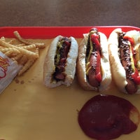 Photo taken at Yocco's - The Hot Dog King by Rob P. on 4/24/2016