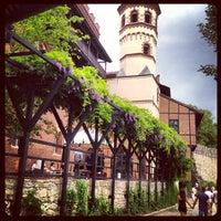 Photo taken at Borgo Medievale by Alexandra S. on 6/24/2013