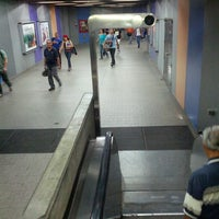 Photo taken at Metro - Ciudad Universitaria by Marco P. on 5/4/2013