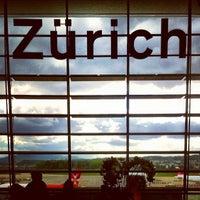 Photo taken at Zurich Airport (ZRH) by Filip K. on 5/12/2013