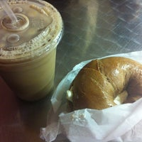Photo taken at Bagels and Beyond by Mei L. on 6/26/2013