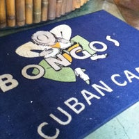 Photo taken at Bongo's Cuban Cafe by Alberto S. on 5/26/2013