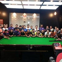 Photo taken at Red Ball Snooker by Khairul N. on 4/6/2014