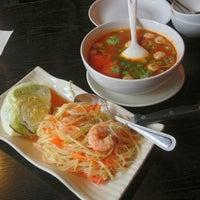 Photo taken at Thai Fusion Bistro by James I. on 2/17/2013