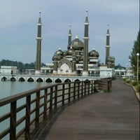 Photo taken at Masjid Kristal by Rem M. on 6/9/2013