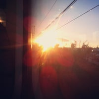 Photo taken at RENFE El Masnou by Annie G. on 2/11/2013