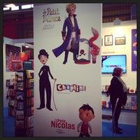 Photo taken at Bologna Children's Book Fair by Gulcan Y. on 3/25/2013