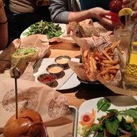 Photo taken at Bareburger by Sam M. on 5/26/2013