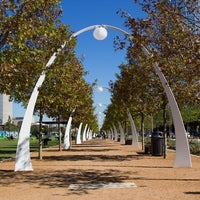 Photo taken at Klyde Warren Park by Jess on 5/17/2013