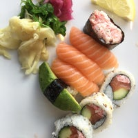 Photo taken at Sushi Yama by Elena A. on 6/5/2016