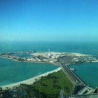 Photo taken at Jumeirah at Etihad Towers by Nastya T. on 3/12/2013