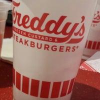 Photo taken at Freddy's Frozen Custard & Steakburgers by Joy E. on 11/13/2013