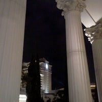 Photo taken at Caesars Palace Gardens by Justin B. on 12/17/2012