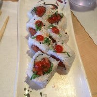 Photo taken at Rickshaw Sushi by Cait R. on 3/21/2013