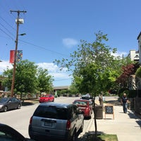 Photo taken at Bluff View Art District by Josh B. on 5/8/2016
