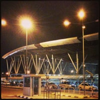 Photo taken at Kempegowda International Airport (BLR) by The K. on 6/6/2013