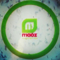 Photo taken at Maoz Vegetarian by Marie L. on 4/5/2013