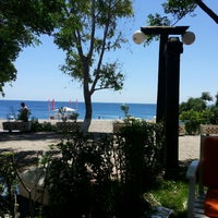 Photo taken at Beach Park by Gürkan B. on 5/20/2013