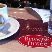 Photo taken at Brioche Dorée by Majda B. on 5/2/2013