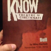 Photo taken at Know Theatre of Cincinnati by Emily H. on 11/1/2013