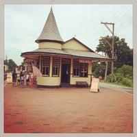 Photo taken at New Hope & Ivyland Railroad by Derek D. on 7/19/2014