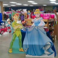 Photo taken at Disney Character Warehouse Outlet by Dee C. on 4/5/2012