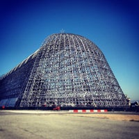 Photo taken at Hangar One (Building 1) by Tom H. on 7/23/2012