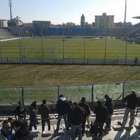 Photo taken at Arena Garibaldi - Stadio Romeo Anconetani by Giovanni M. on 3/3/2013