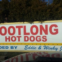 Photo taken at Eddie's Footlong Hotdogs by Todd S. on 3/16/2016