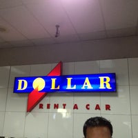 Photo taken at Dollar Rent A Car by Heather F. on 1/23/2013
