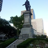 Photo taken at Lafayette Square by Eunyoung Julia P. on 5/14/2013