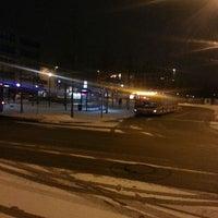 Photo taken at Giesinger Bahnhofsplatz by lxhmuc on 2/15/2013