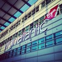 Photo taken at Virgin Atlantic Check-In by Tamer E. on 7/10/2014
