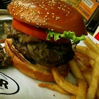 Photo taken at BGR - The Burger Joint by Alaa S. on 9/20/2012