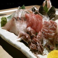 Photo taken at 魚屋の居酒屋 日本橋魚錠 by dora c. on 3/21/2013