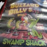 Photo taken at Buzzard Billy's Swamp Shack by Stephanie W. on 6/7/2013