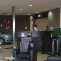 Photo taken at Le Mieux & Son Toyota by Jo E. on 4/1/2013