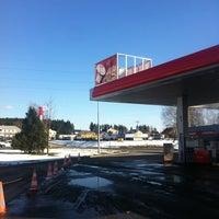 Photo taken at Benzina by Tuzex C. on 3/20/2013