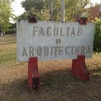 Photo taken at Facultad de Arquitectura Diseño y Urbanismo by Luis C. on 3/5/2013