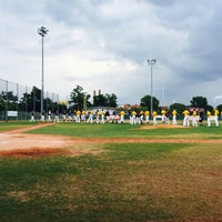 Photo taken at Mainz Athletics Ballpark by Mishutka O. on 7/23/2016