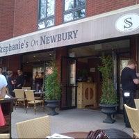Photo taken at Stephanie's On Newbury by EunJu Carol L. on 9/3/2013
