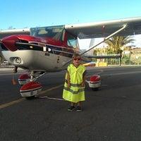 Photo taken at Real Aeroclub de Gran Canaria by Rubén on 10/26/2013