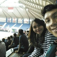 Photo taken at GOR C-Tra Arena by Jerry P. on 4/3/2016